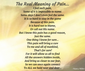 NM Real Meaning of Pain