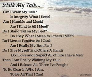 NM Walk my talk w:sand:water