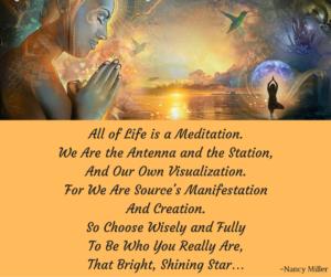 RMPP Life is a Meditation tan