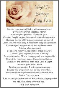 Energizing Body Love!